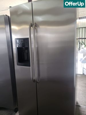 🚚💨Stainless Steel GE Refrigerator Fridge With Warranty #1159🚚💨 for Sale in Rialto, CA