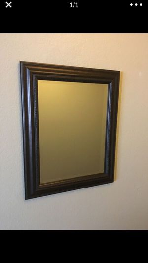 """Beautiful brown mirror 30"""" by 24"""" for Sale in Jamul, CA"""