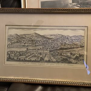 Italy Painting With Glass Frame for Sale in Moreno Valley, CA