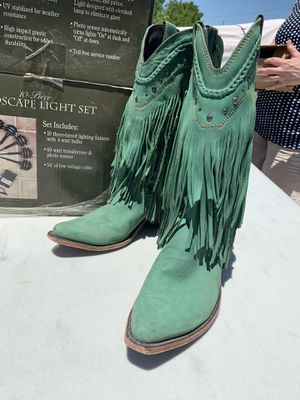 Fringe cowboy boots for Sale in San Marcos, TX