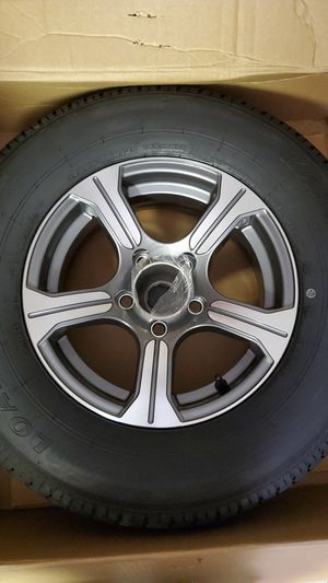 NEW Trailer wheels and tires 205 75 14 for Sale in Cumming, GA