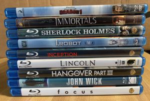 Lots of 9 blu ray & dvd movies for Sale in Lanham, MD
