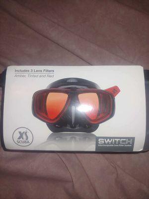 XS Scuba Switch dive mask for Sale in Santa Ana, CA