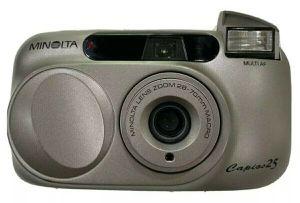 Minolta Capios 25 35mm Point & Shoot film camera for Sale in Whittier, CA