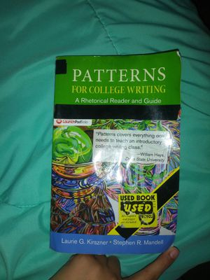 Patterns for college writing book for Sale in Weslaco, TX