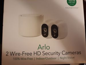 Arlo 2 wire-free HD security cameras indoor/outdoor/nightvision for Sale in Phoenix, AZ