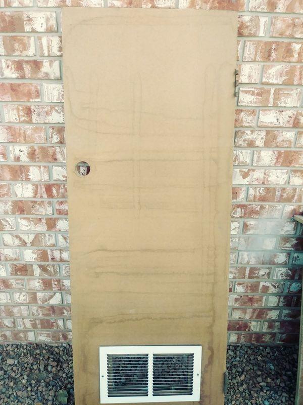 Heater/water heater closet door 24×65 5/8