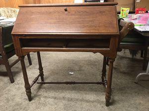 Antique secretary wooden desk for Sale in Garland, TX