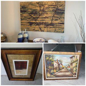 60x40x2 parvez home decor plus more for Sale in Riverview, FL
