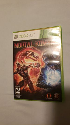 XBOX Mortal Kombat for Sale in Tacoma, WA