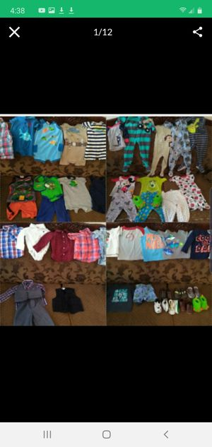 Baby boy clothes 9 to 18 months for Sale in Henderson, NV