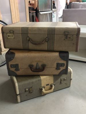 Vintage suitcases for Sale in Carlsbad, CA