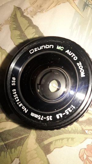 Ozunon MC Auto Zoom Camera Lens for Sale in Chicago, IL