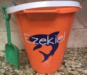 Personalized Beach Buckets for Sale, used for sale  La Mesa, CA