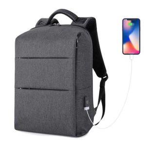 Men Waterproof Usb Laptop Backpack Anti Theft Travel Shoulder Bag Computer Boy Schoolbag for Sale in New York, NY
