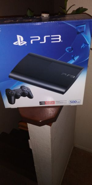 PS3 500GB Headset + 5Games for Sale in Colton, CA