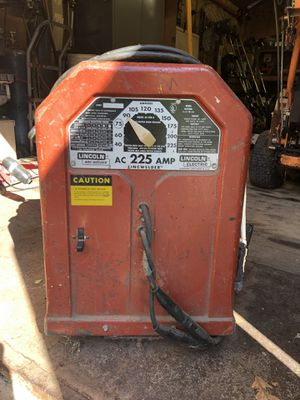 Arc Welder -Lincoln 225 AMP for Sale in Park Ridge, NJ