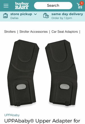 UPPAbaby Upper Carseat Adapters for Sale in Dallas, TX