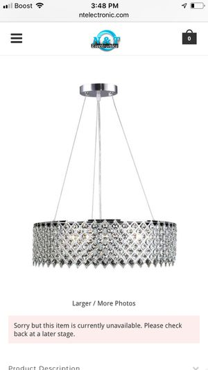 Chandelier for Sale in Glen Burnie, MD