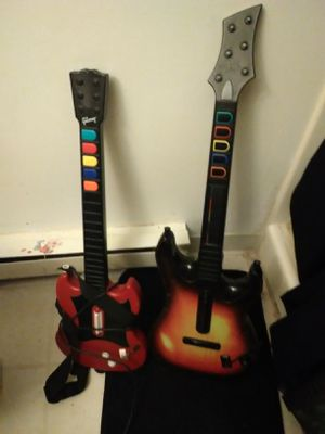 Redoctane wireless controller for Xbox 360 and Gibson SG controller guitar for Sale in Mason City, IA