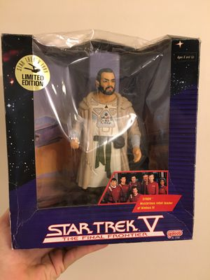 "Star Trek V Final Frontier Vintage 1989 Final Frontier Sybok 7.5"" Action Figure for Sale in Atlanta, GA"