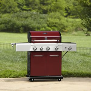 Kenmore 4 burner gas grill with searing side burner for Sale in Schaumburg, IL