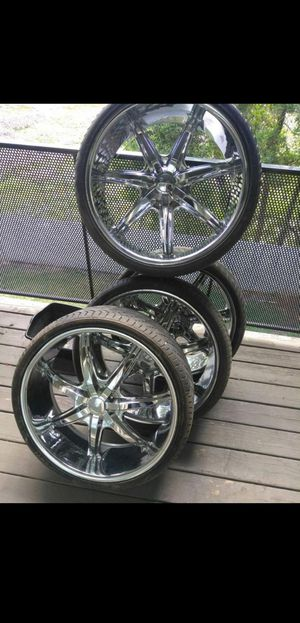 24 inch rims for Sale in Tracy, CA