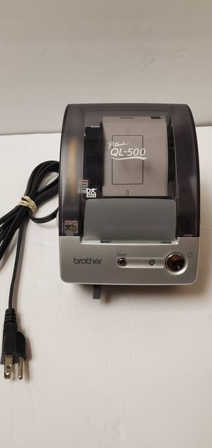 Brother QL-500 P-Touch Thermal Label Printer w/ USB Cable and CD-ROM for Sale in Glendale, AZ