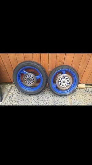Front & Rear Wheels Suzuki Katana for Sale in Fullerton, CA