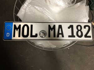 German license plate for Sale in Anchorage, AK
