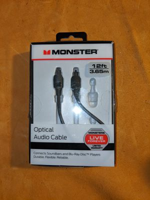 Optical audio cable for Sale in Puyallup, WA
