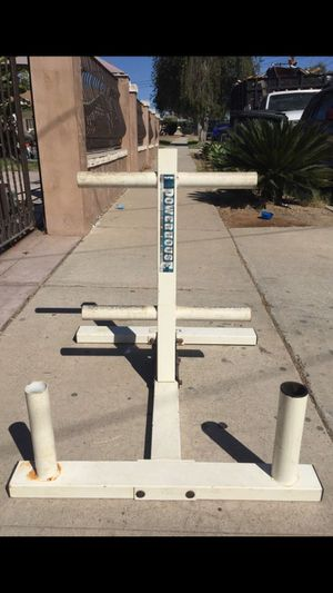 OLYMPIC WEIGHTS TREE W/ BAR HOLDER for Sale in San Diego, CA