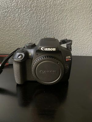 Canon EOS Rebel T6 DSLR for Sale in North Las Vegas, NV