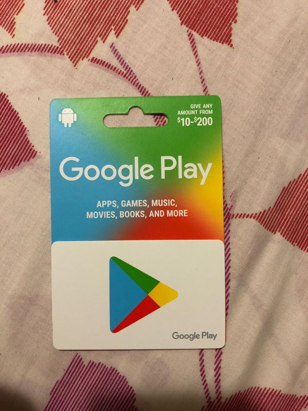 Google play 100$