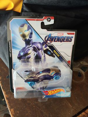 Hot wheels Rescue Iron man Marvel for Sale in Whittier, CA