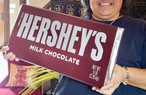 Giant Hershey Bar for chocolate lover's Valentine's Day! for Sale in Austin, TX