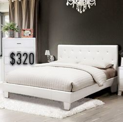 FULL BED FRAME WITH MATTRESS INCLUDED for Sale in Inglewood,  CA