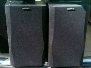 2 Sony Shelf Speakers - $30 for Sale in Colorado Springs, CO