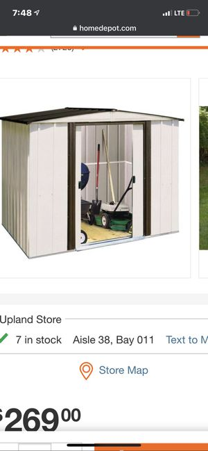 Arrow shed for Sale in Rancho Cucamonga, CA
