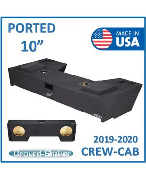 "10"" 2019-2020 Dodge Ram 1500-3500 Crew Cab 10"" Dual Ported Sub Box Subwoofer Enclosure Speaker Box Cajon De Bocinas Ground Shaker 10"" for Sale in Montclair, CA"