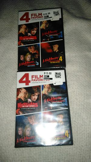 Dvd 4 film pack for Sale in Huntsville, AR