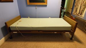 Invacare electric bed with mattress ~ Complete. In Woburn for Sale in Woburn, MA
