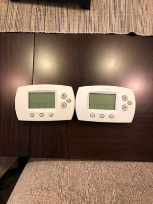 2 Honeywell Programmable Thermostats for Sale in Houston, TX
