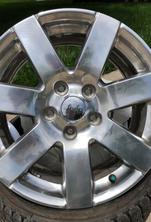 ALY9115U80 Jeep Wrangler Wheel Polished for Sale in Delaware, OH