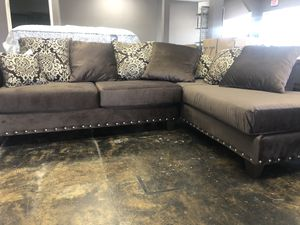 Sofa Chaise $40 And 100 Days to pay in full for Sale in Jonesboro, AR