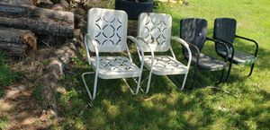 Antique metal chairs for Sale in Lebanon, TN