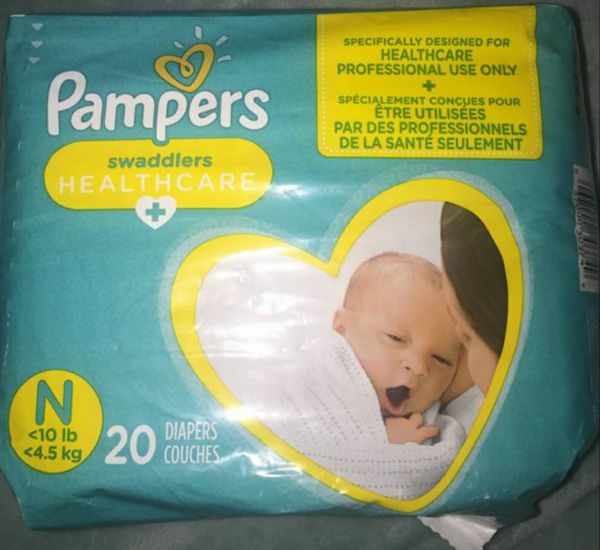 Pampers newborn diapers (read 2nd pic)