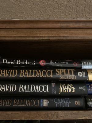 15 David Baldacci books all hard covers for Sale in Carrollton, TX