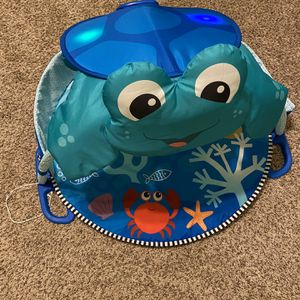 Musical Interactive Tummy Time Play Mat Sea Turtle for Sale in Mansfield, TX