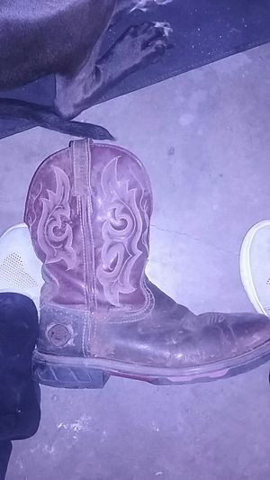 Justin work boots size 9D for Sale in Euless, TX